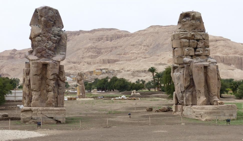 Download Free Stock Photo of Ancient Egyptian Ruins