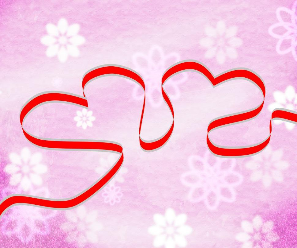 Download Free Stock HD Photo of Hearts Background Shows Valentine Day And Backdrop Online