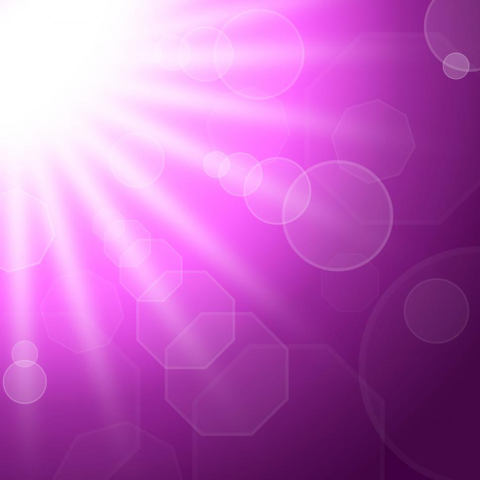 Download Free Stock Photo of Sunrays Sun Indicates Bokeh Lights And Backdrop