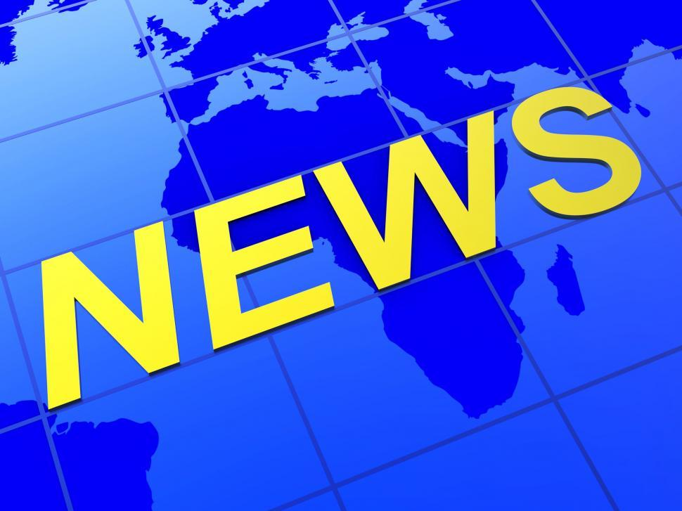 Download Free Stock HD Photo of News World Indicates Article Globalization And Journalism Online