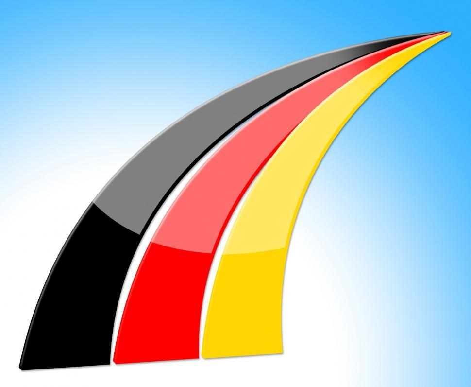 Download Free Stock Photo of Flag Germany Represents Nation Deutch And Nationality