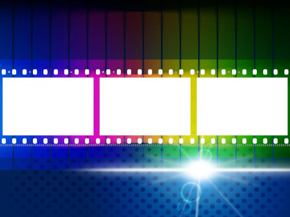 Download Free Stock HD Photo of Color Copyspace Means Negative Film And Blank Online