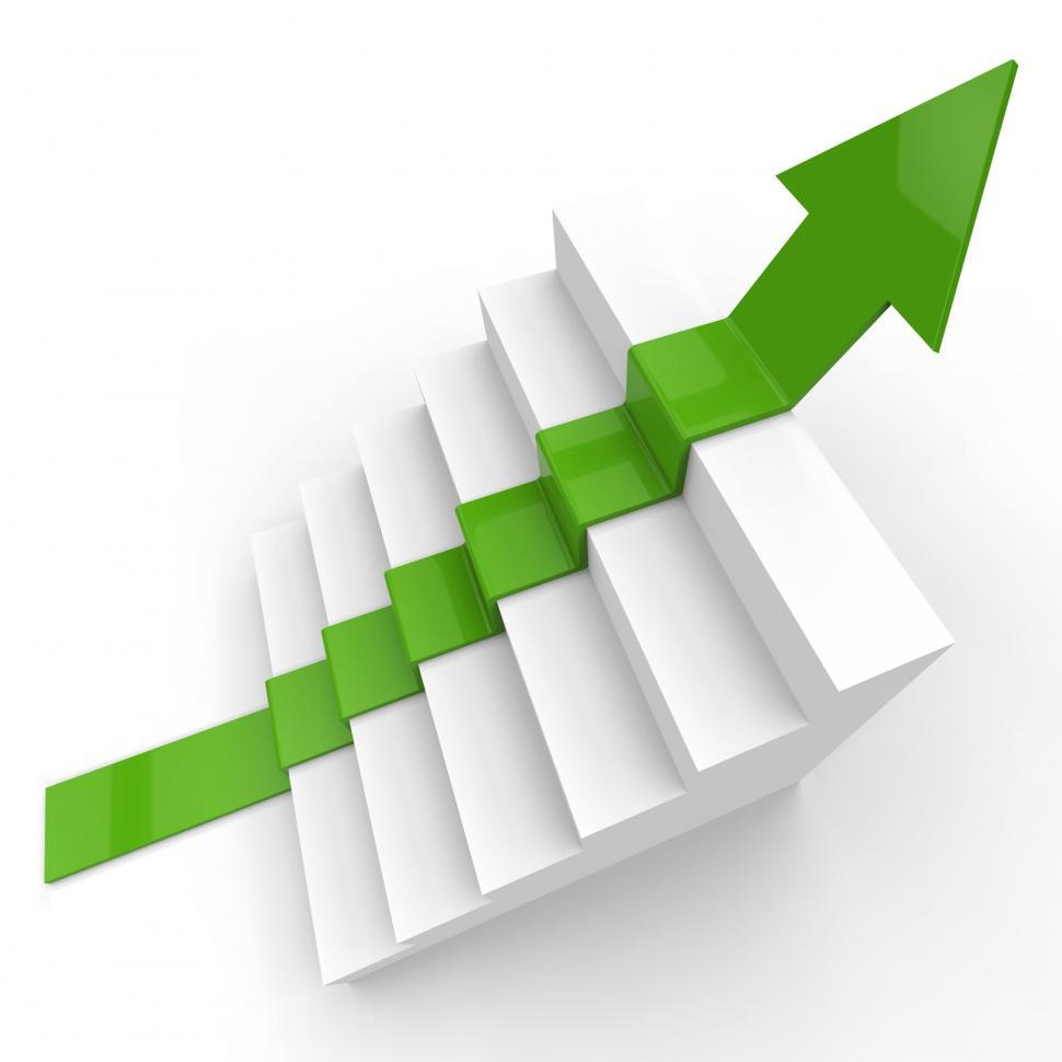 Download Free Stock HD Photo of Growth Win Shows Victorious Success And Expansion Online