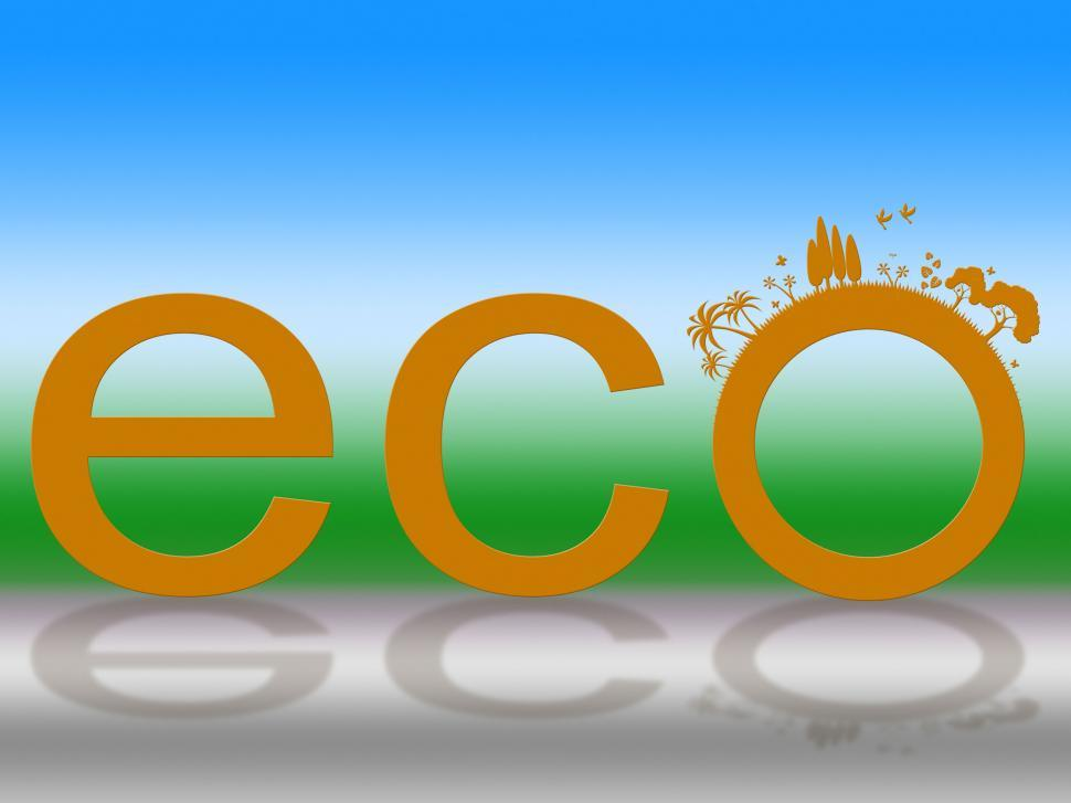 Download Free Stock HD Photo of Nature Word Means Go Green And Countryside Online