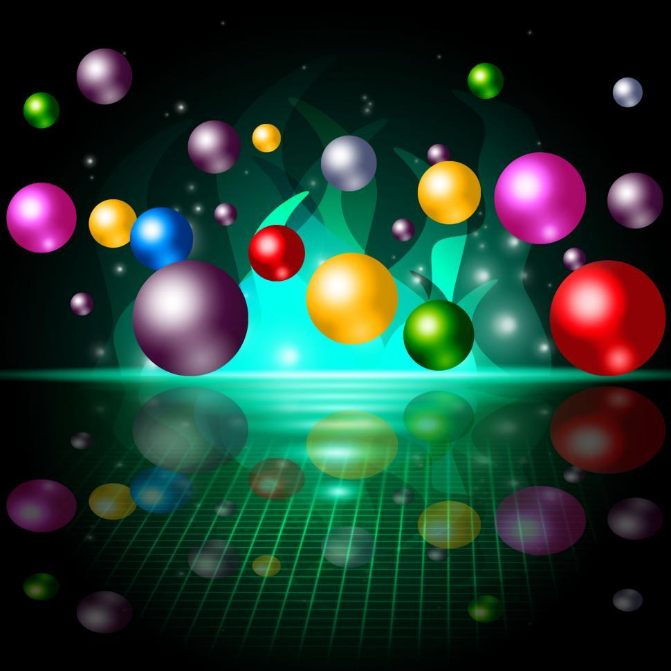 Download Free Stock Photo of Sphere Color Represents Spectrum Orbs And Ball