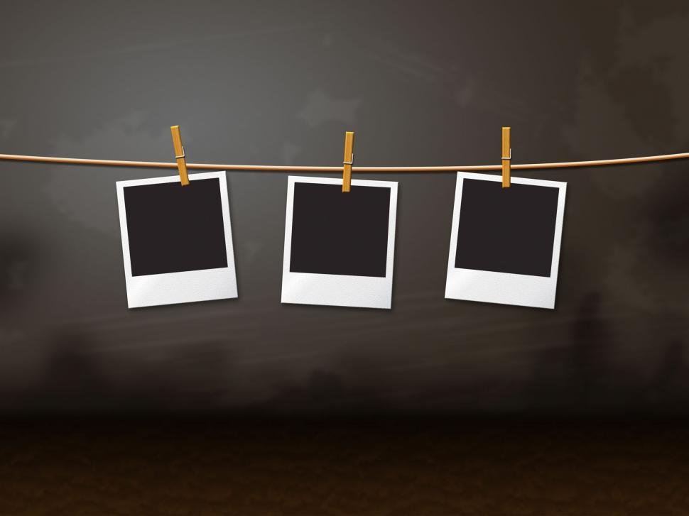 Download Free Stock HD Photo of Photo Frames Indicates Empty Space And Background Online