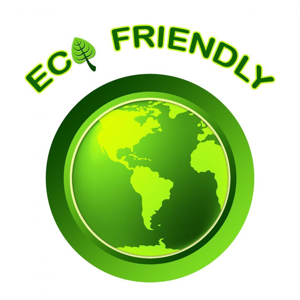 Download Free Stock HD Photo of Eco Friendly Shows Earth Day And Environment Online