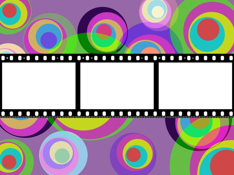 Download Free Stock Photo of Filmstrip Copyspace Indicates Color Colour And Multicoloured