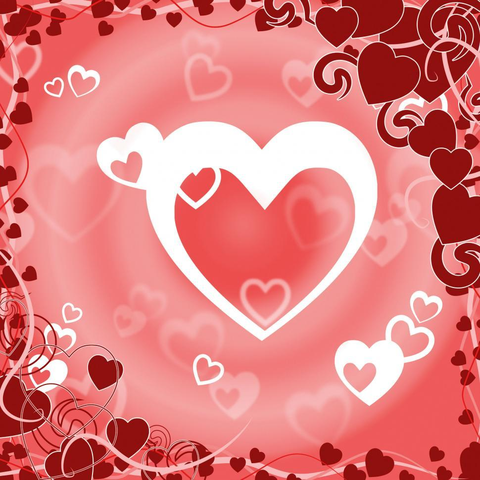 Download Free Stock HD Photo of Background Heart Shows Valentines Day And Abstract Online