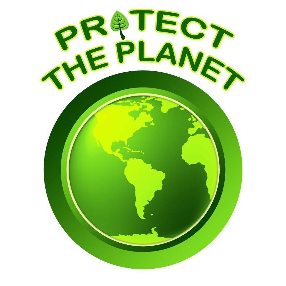 Download Free Stock Photo of Protect World Indicates Planet Worldwide And Globalization