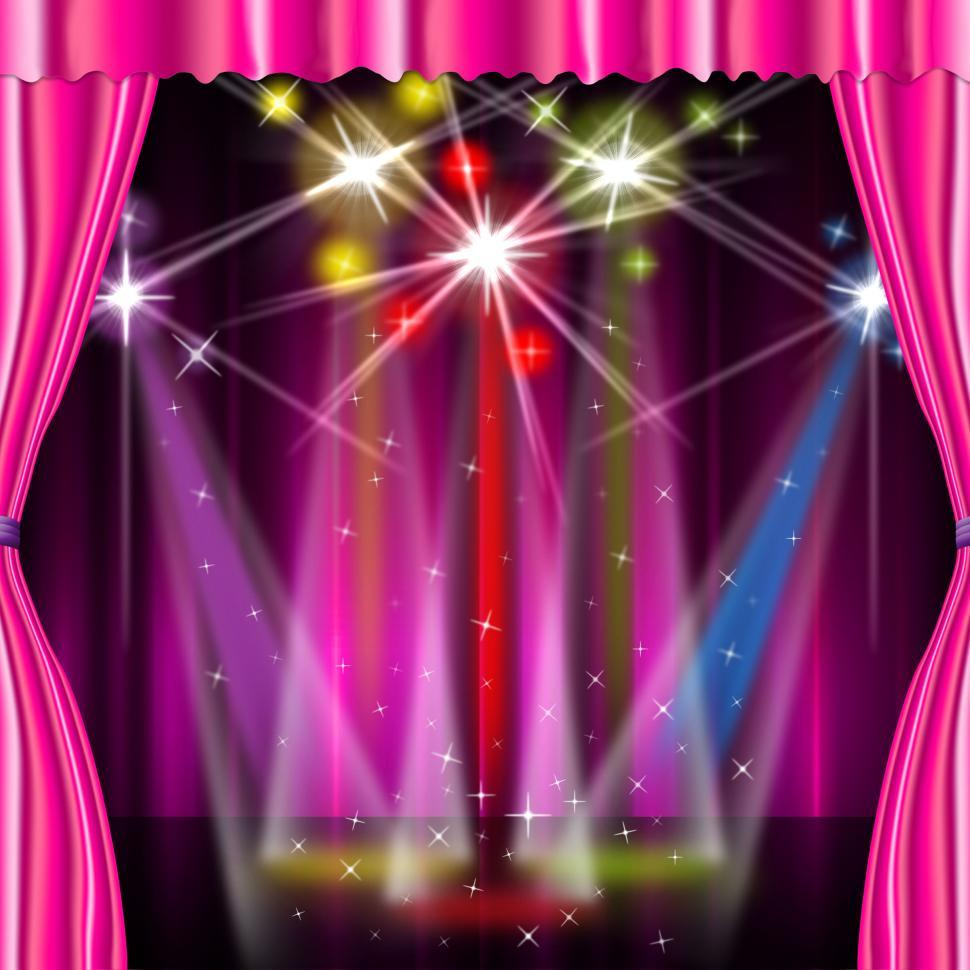 Download Free Stock HD Photo of Color Spotlight Means Stage Lights And Vibrant Online