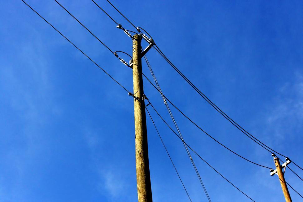 Download Free Stock Photo of Telephone Pole
