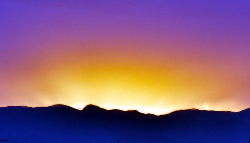 Download Free Stock Photo of Fantasy sunset
