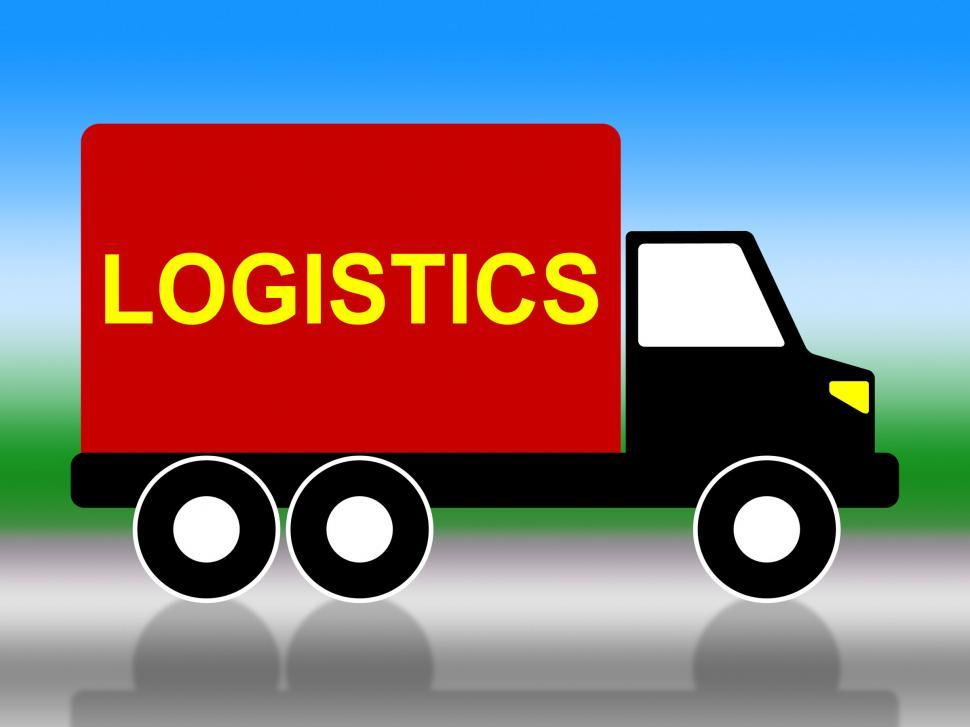 Download Free Stock HD Photo of Delivery Truck Means Coordinate Courier And Organized Online