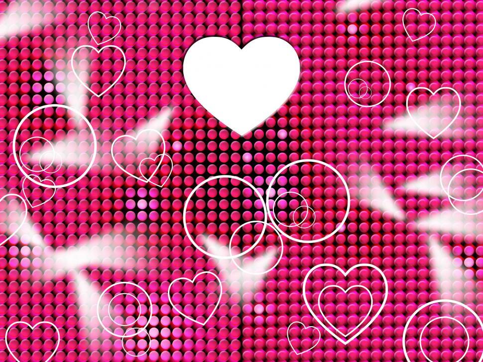Download Free Stock HD Photo of Hearts Grid Means Lightsbeams Of Light And Affection Online