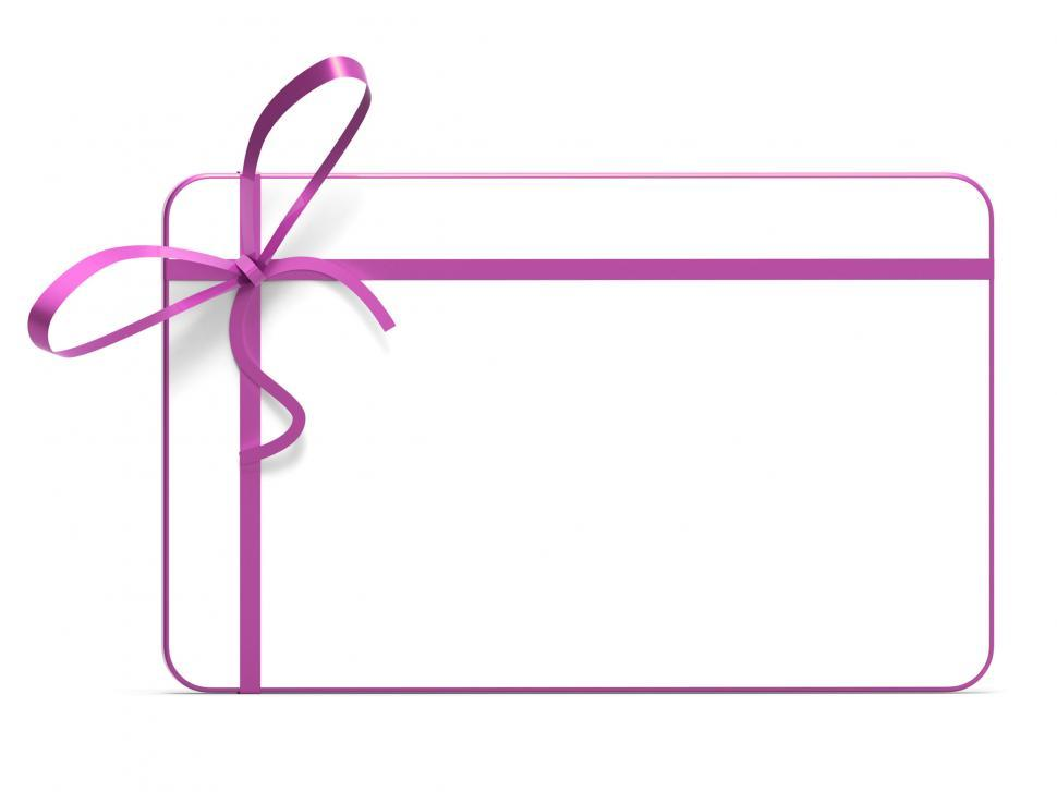 Download Free Stock Photo of Gift Tag Represents Blank Space And Copy-Space