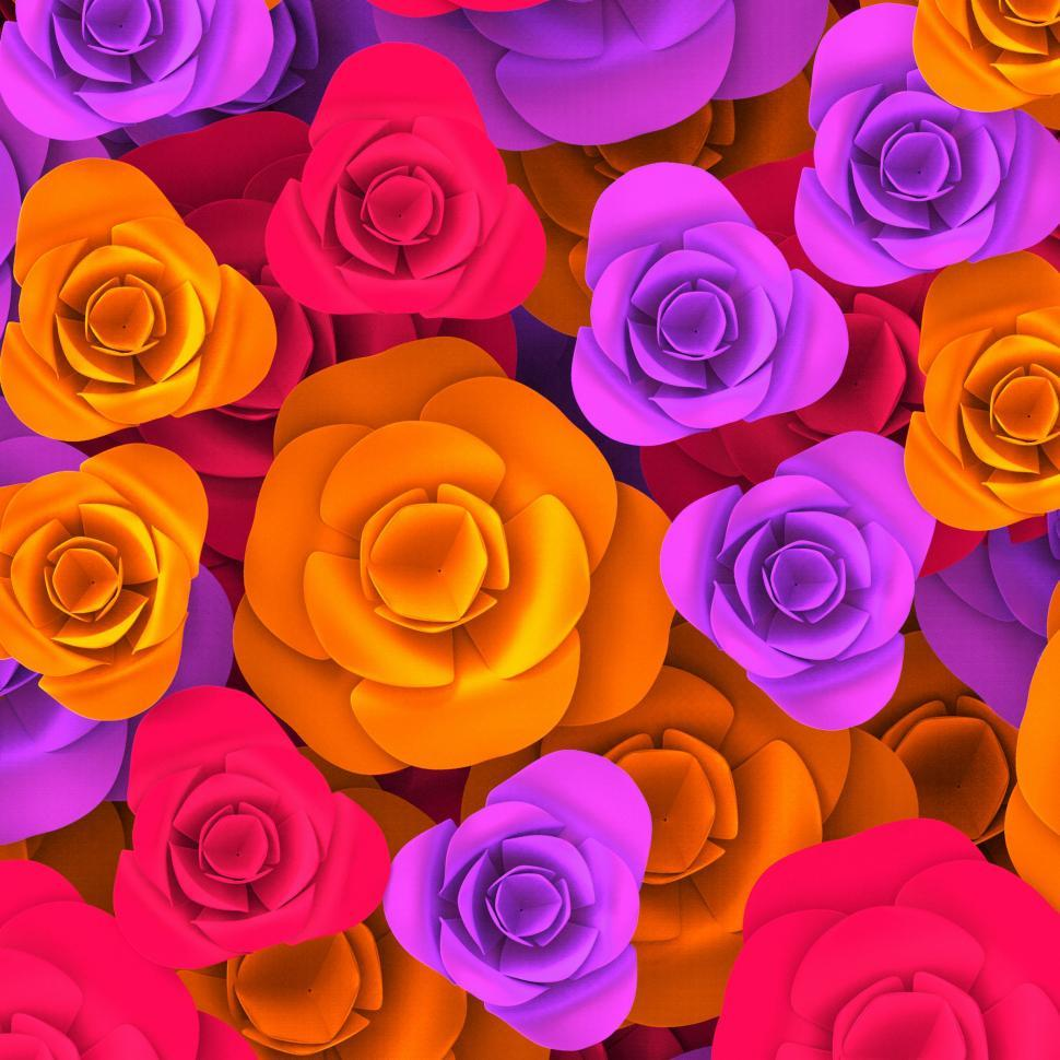 Download Free Stock HD Photo of Color Roses Indicates Background Valentines And Colourful Online