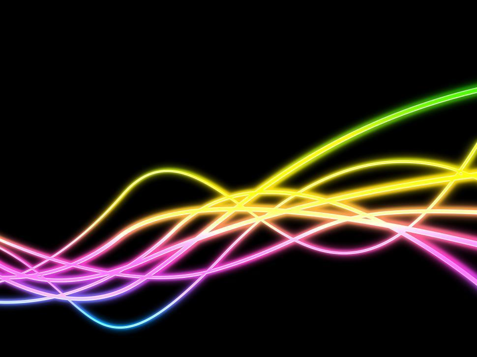 Download Free Stock HD Photo of Twirl Background Represents Neon Sign And Artistic Online