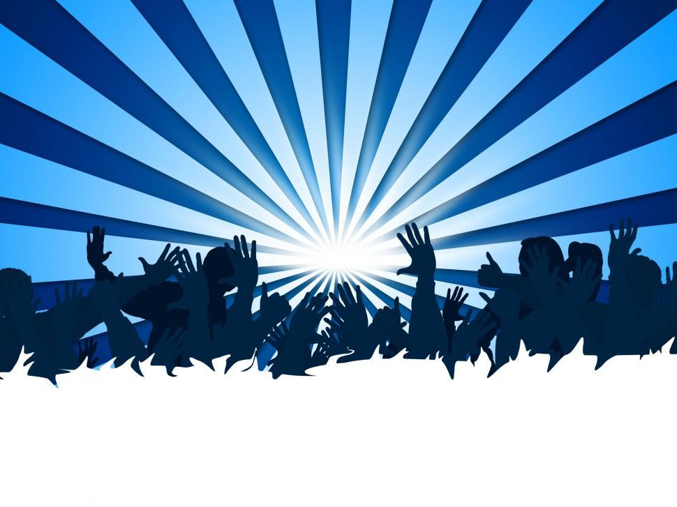 Download Free Stock HD Photo of Festival Concert Means Group Of People And Audience Online