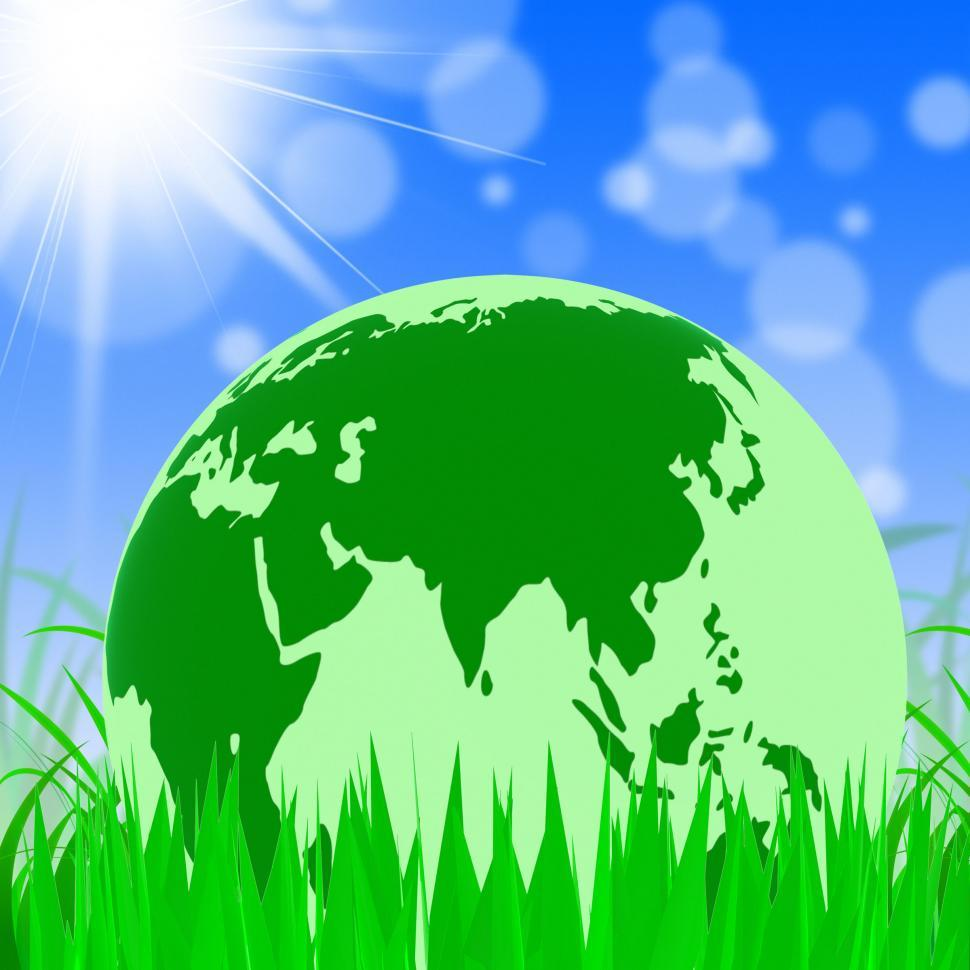 Download Free Stock Photo of Nature Global Represents Trees Environmental And Earth