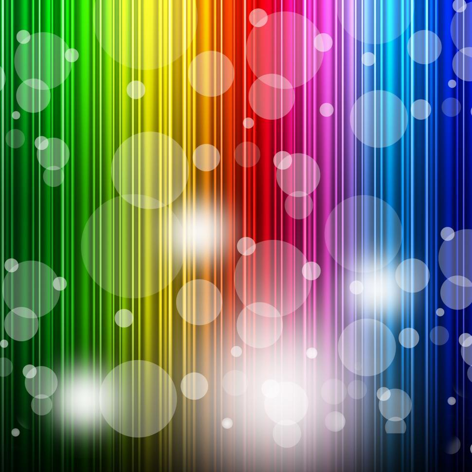 Download Free Stock Photo of Color Bokeh Shows Colors Multicoloured And Backgrounds