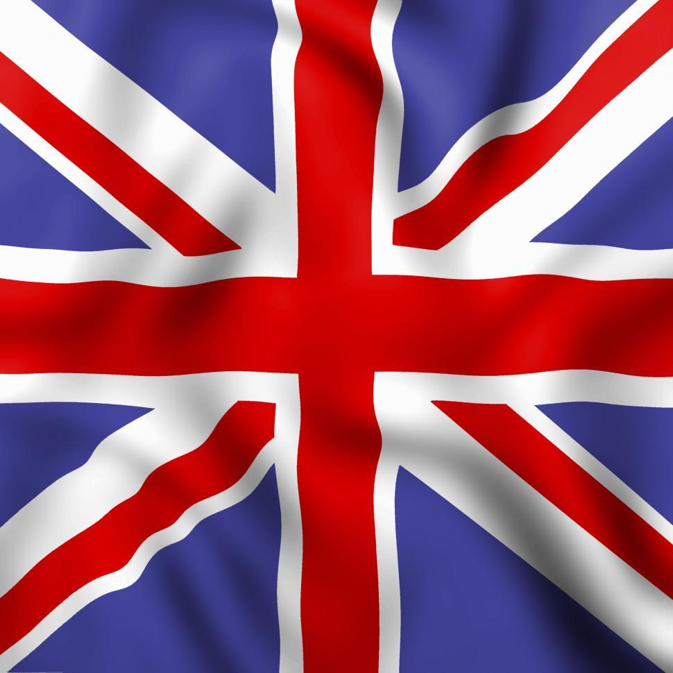 Download Free Stock Photo of Union Jack Indicates English Flag And Britain