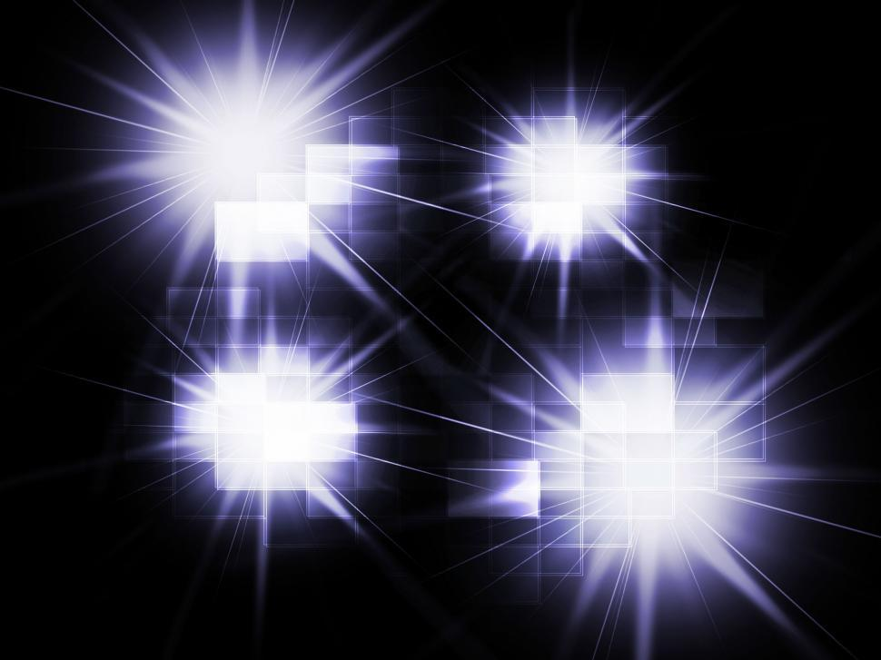 Download Free Stock HD Photo of Blurred Light Spots Background Means Twinkling Reflections Or Sp Online