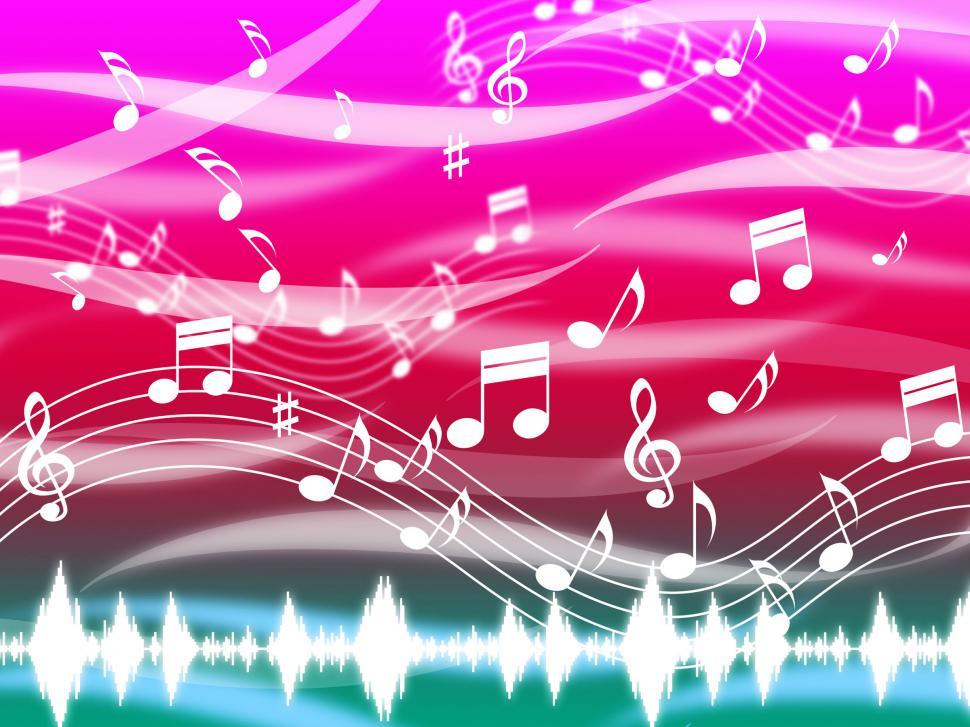 Download Free Stock HD Photo of Music Background Means Blues Classical And Melody  Online