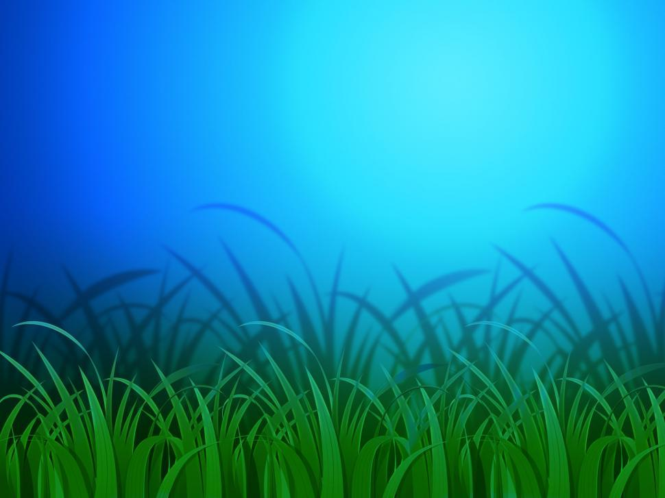 Download Free Stock HD Photo of Horizon Background Means Clear Lawn And Environment  Online