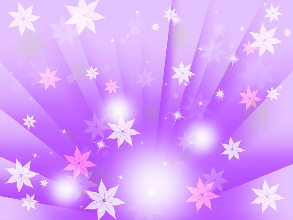 Download Free Stock HD Photo of Purple Bubbles Background Means Flowers Light And Beams  Online