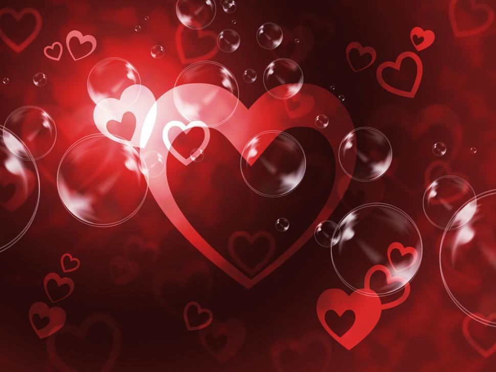 Download Free Stock HD Photo of Hearts Background Means Passionate Wallpaper Or Loving Art  Online
