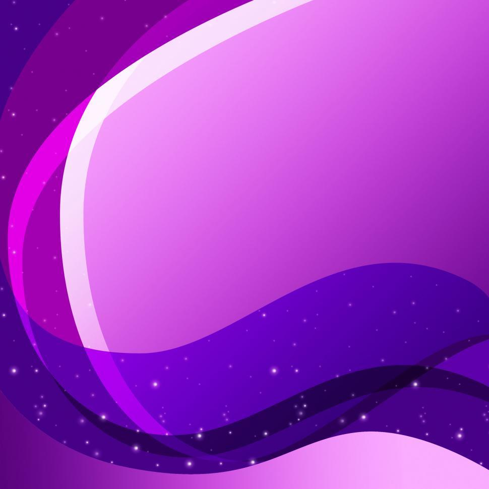 Download Free Stock HD Photo of Purple Curves Background Means Swirly Lines And Sparkles  Online