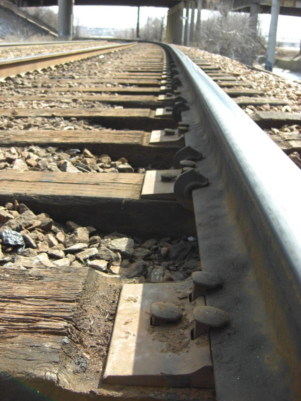 Download Free Stock HD Photo of Railroad Track Perspective Online