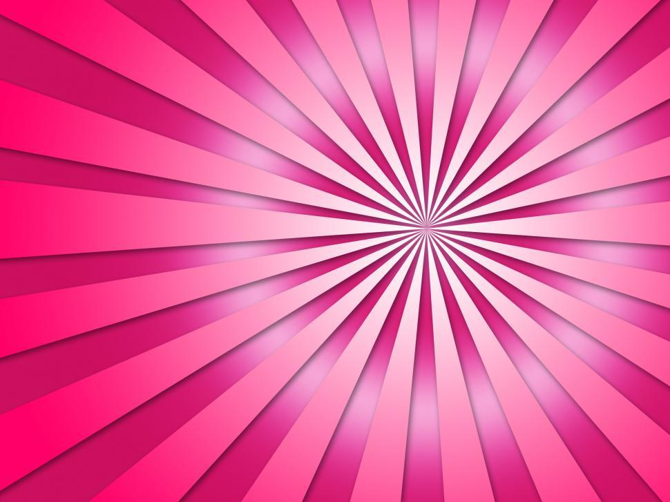 Download Free Stock Photo of Striped Tunnel Background Shows Dizzy Perspective Or Speeding Ar