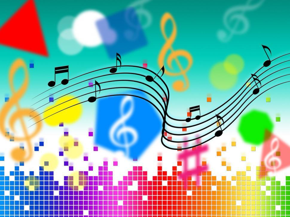 Download Free Stock HD Photo of Music Background Shows Pop Classical Or Rock  Online