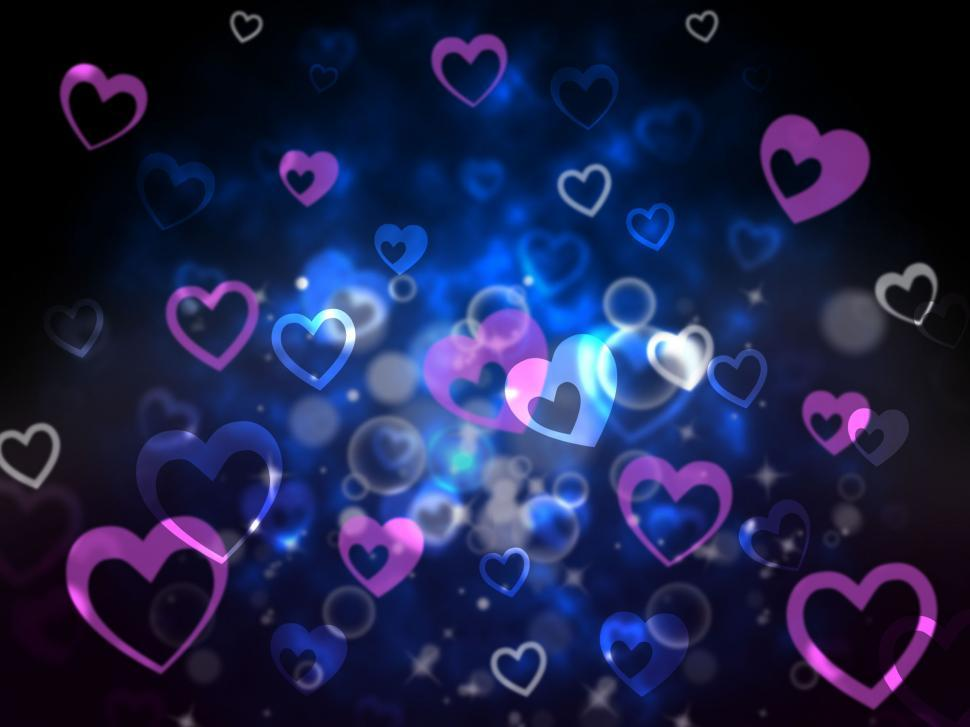 Download Free Stock HD Photo of Hearts Background Means Love For Mother Father And Family   Online