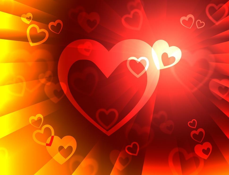 Download Free Stock HD Photo of Hearts Background Means Valentines Wallpaper Or Romanticism  Online