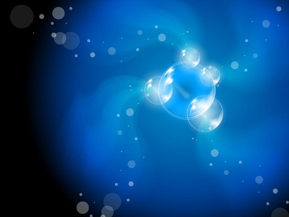 Download Free Stock Photo of Abstract Bubbles Background Means Beautiful Translucent Art