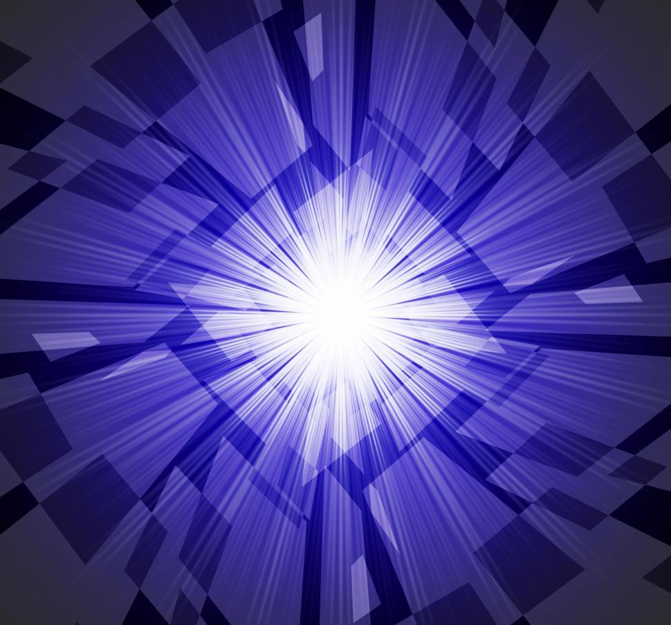 Download Free Stock Photo of Brightness Background Means Star Ablaze And Rectangles