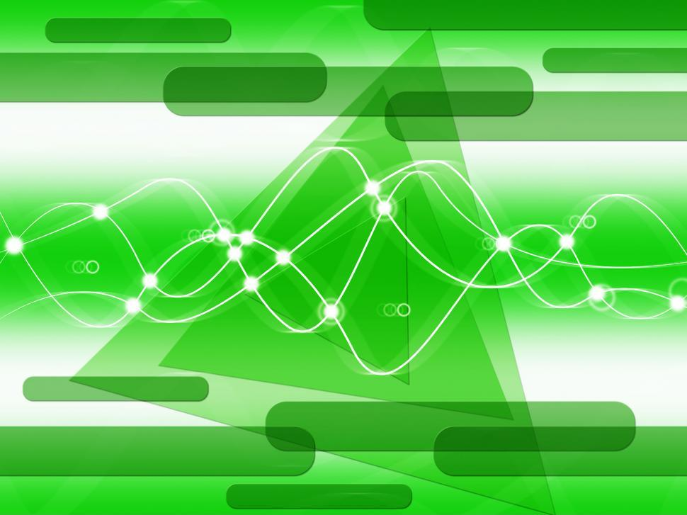 Download Free Stock HD Photo of Green Double Helix Background Shows DNA Make-Up And Biological  Online