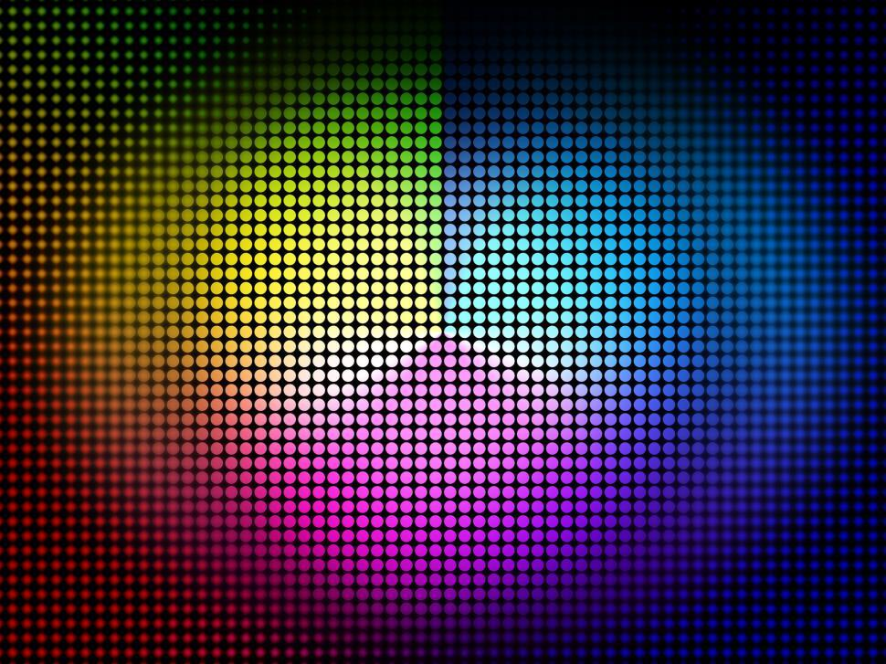 Download Free Stock Photo of Color Wheel Background Means Colors Hues And Chromatic