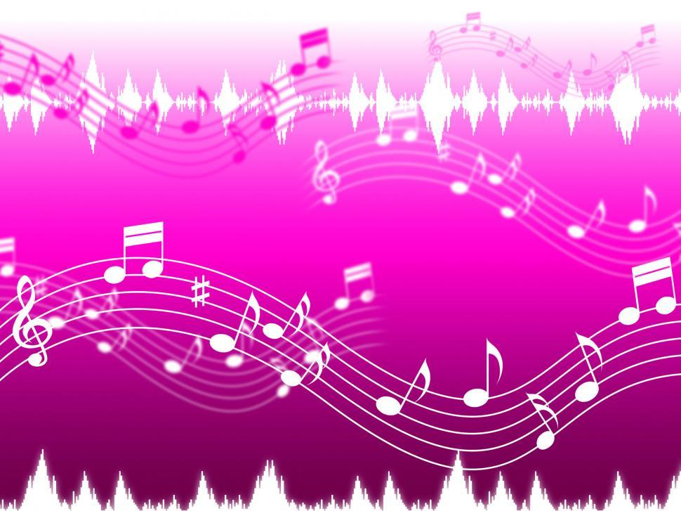 Download Free Stock HD Photo of Pink Music Background Shows Rap Rock Or RandB  Online