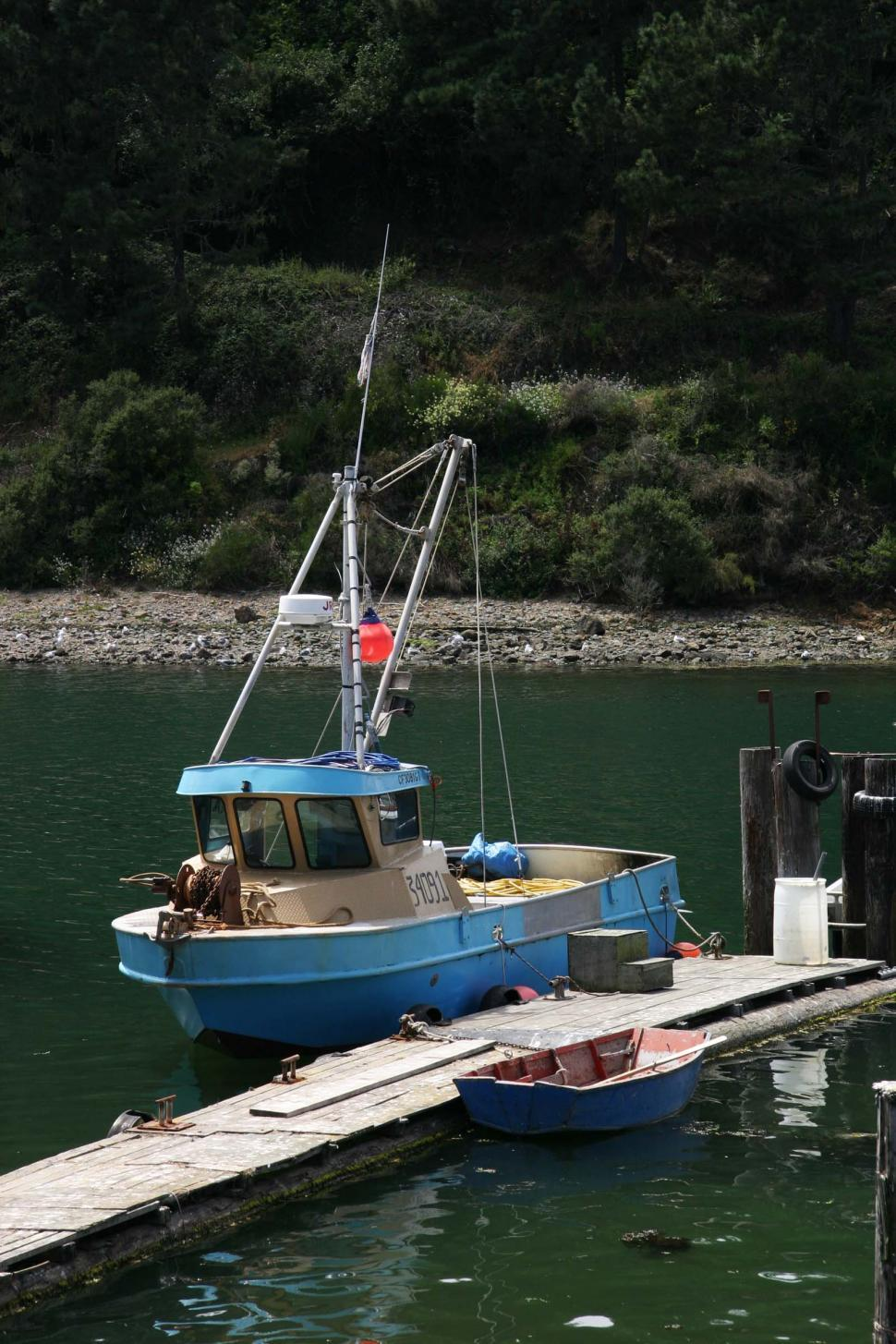 Download Free Stock HD Photo of Small fishing boat Online