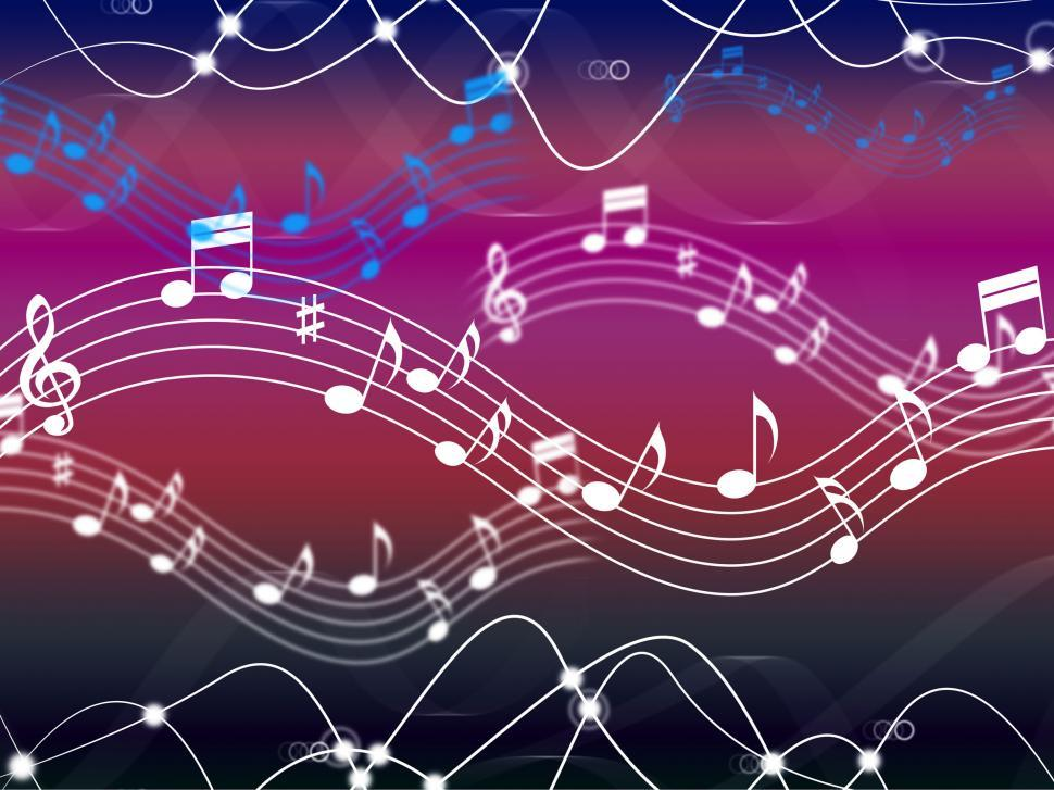 Download Free Stock HD Photo of Music Background Shows Musical Song And Harmony  Online