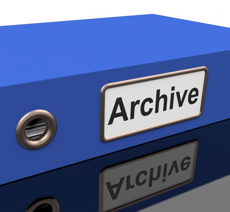 Download Free Stock HD Photo of File Archive Means Catalog Document And Documentation Online
