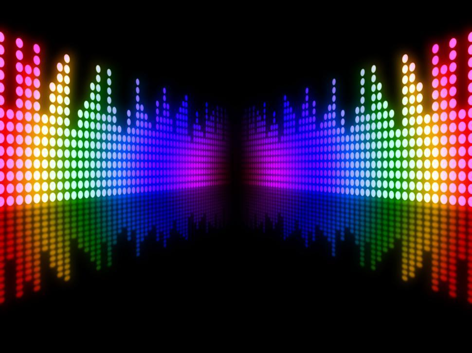 Download Free Stock Photo of Equaliser Music Means Sound Track And Equalizer