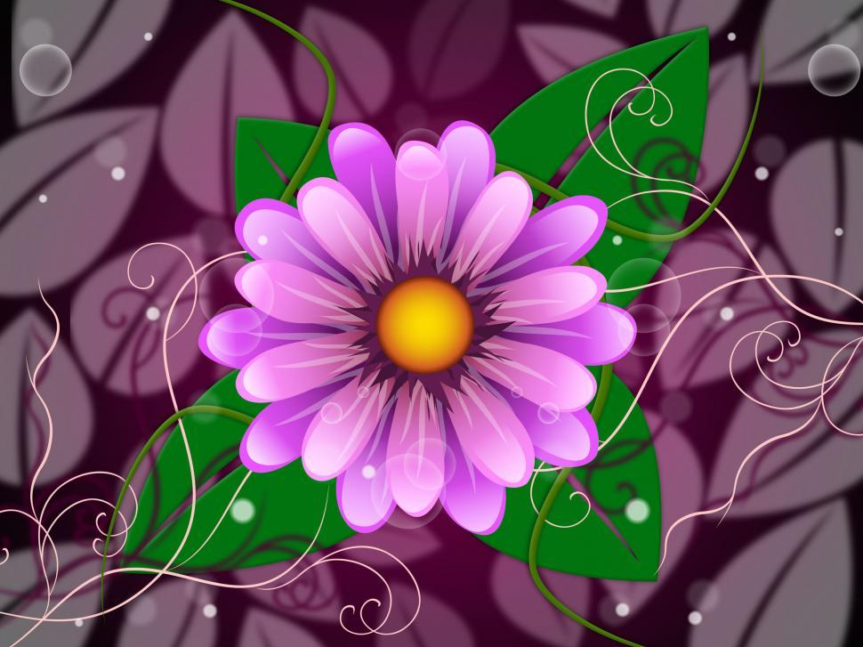 Download Free Stock HD Photo of Floral Background Indicates Template Florist And Petal Online