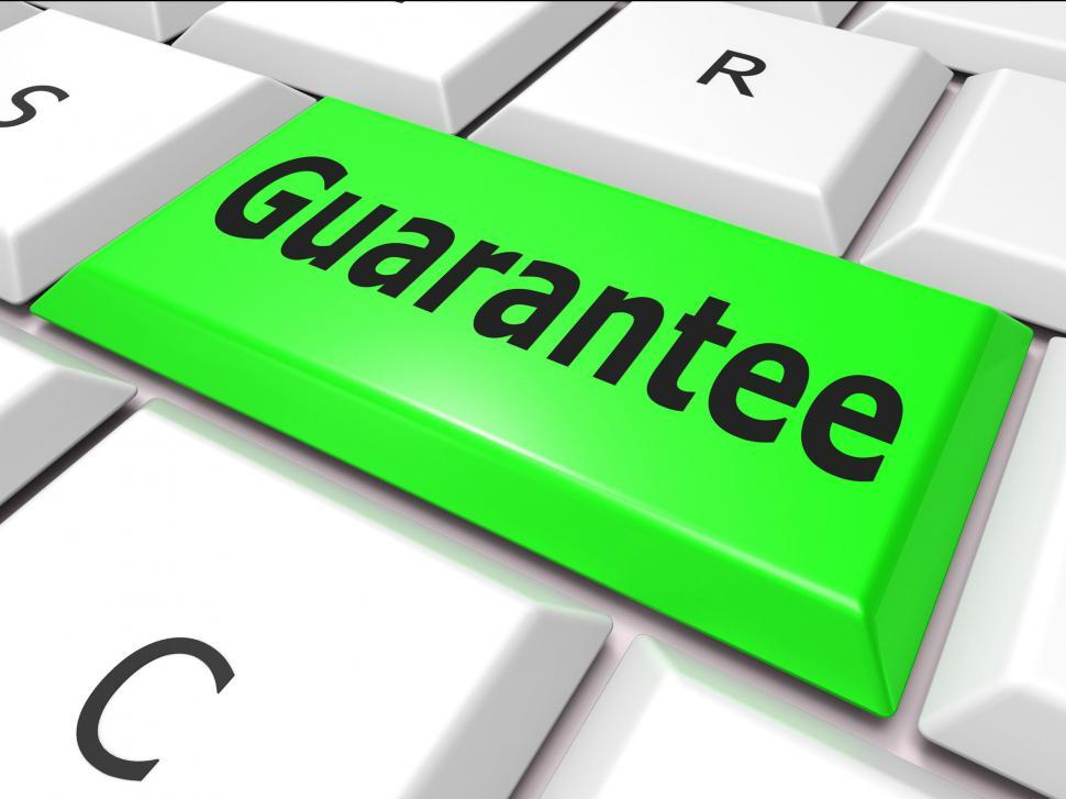 Download Free Stock HD Photo of Online Guarantee Represents World Wide Web And Searching Online