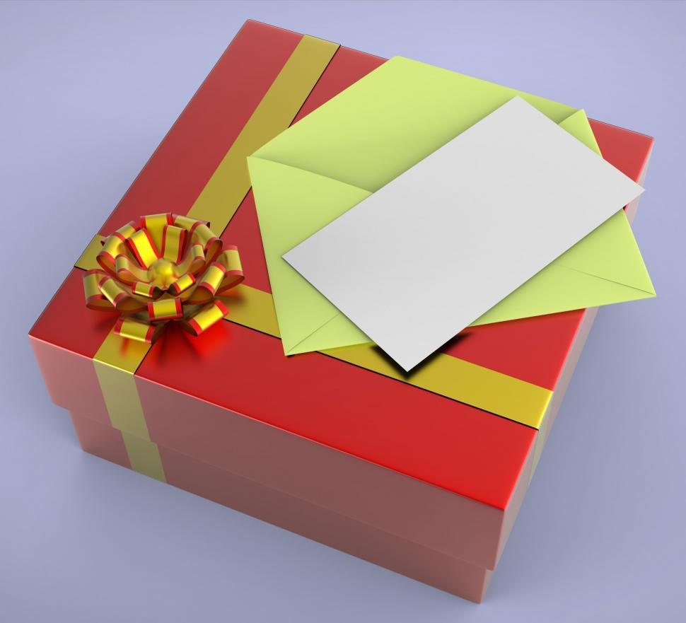 Download Free Stock Photo of Gift Tag Means Empty Space And Celebrate