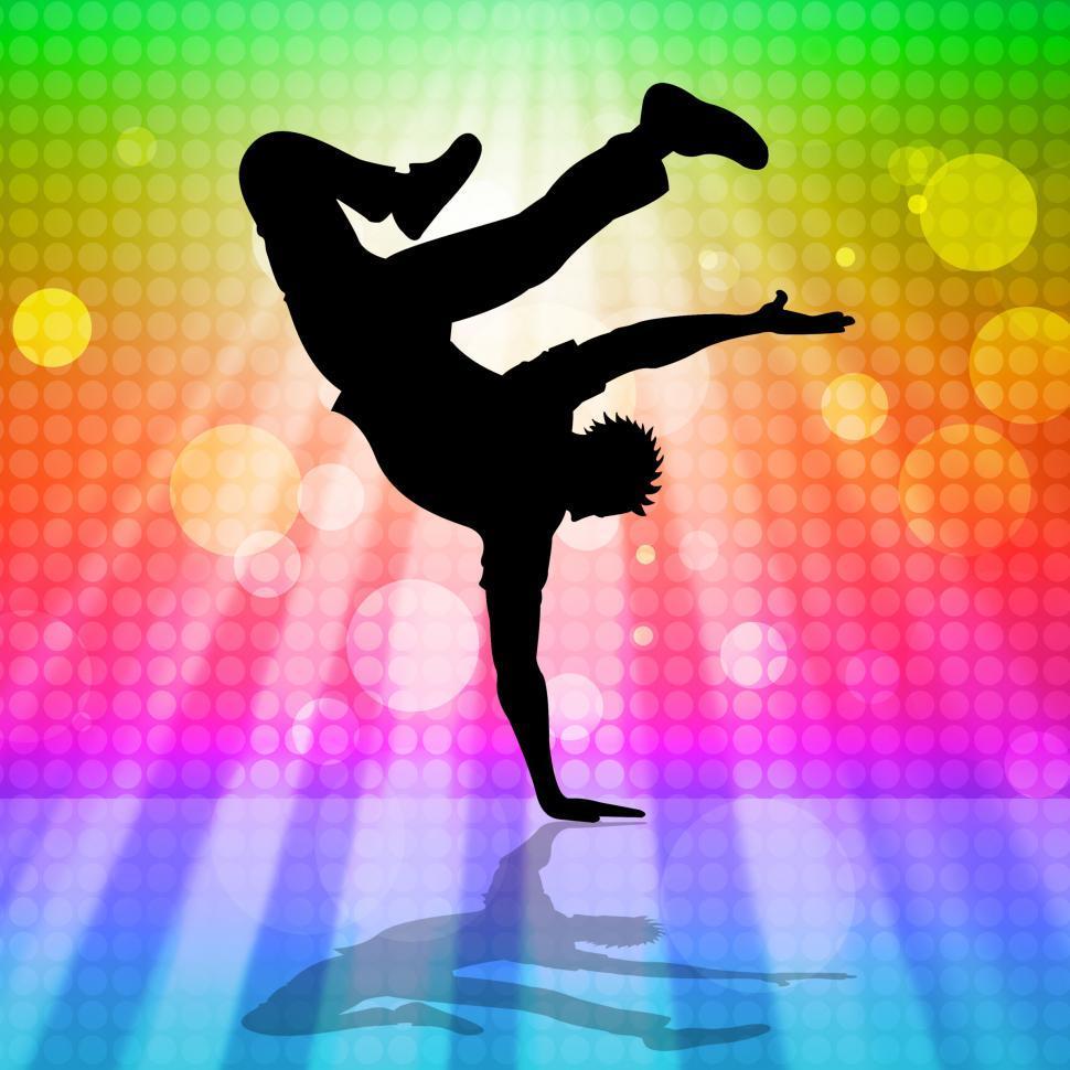 Download Free Stock HD Photo of Break Dancing Means Hip Hop And Break-Dance Online
